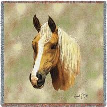 Palomino Horse - Lap Square