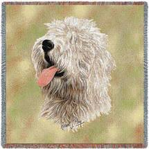 Old English Sheepdog  - Lap Square