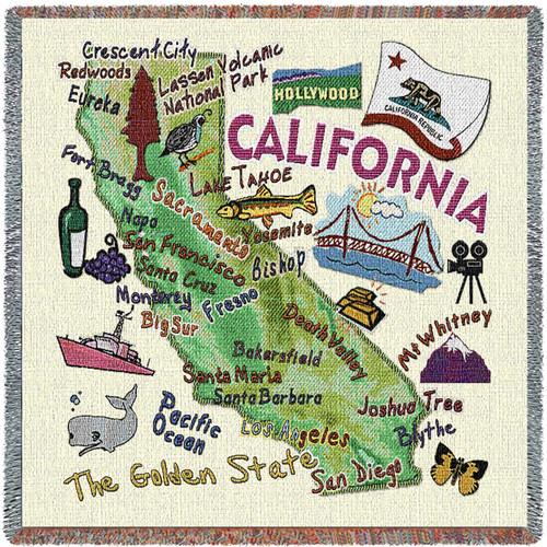 State of California - Lap Square