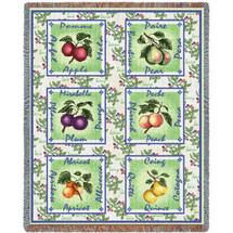 Alsatian Fruit - Tapestry Throw
