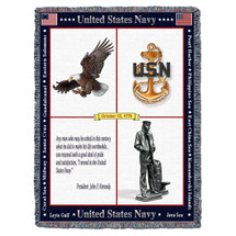 US Navy -Naval Memorial - Tapestry Throw
