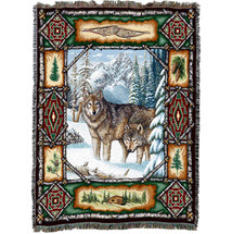 Wolf Lodge - Tapestry Throw