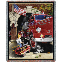 Chilhood Dreams - Tapestry Throw