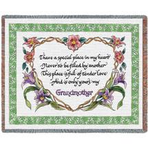 Grandmothers Tender Love - Tapestry Throw