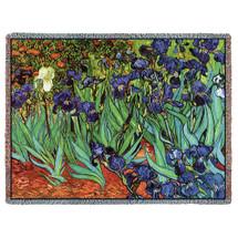 Irises - Tapestry Throw