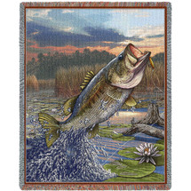 First Strike Bass - Tapestry Throw
