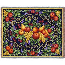 Fruit Design - Tapestry Throw