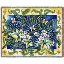 Ferns - Tapestry Throw