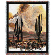 Sonoran Sentinels by Adin Shade - Tapestry Throw