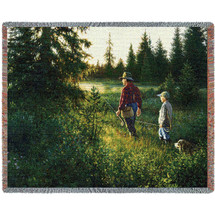 Good Times Fishing - Tapestry Throw