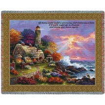 Heavens Light - If Tears Could Build A Stairway And Memories A Lane - Sympathy - Tapestry Throw