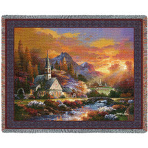 Morning Of Hope - Tapestry Throw
