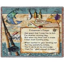 Fisherman's Prayer - Tapestry Throw
