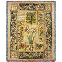 Music in the Garden - Tapestry Throw