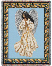 Guardian Angel 2 - Tapestry Throw