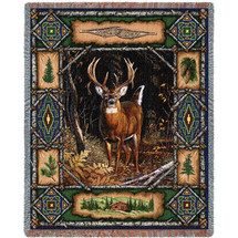Deer Lodge - Tapestry Throw