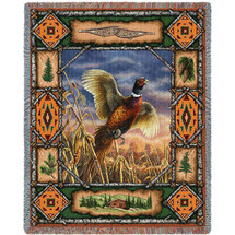 Pheasant Lodge - Tapestry Throw