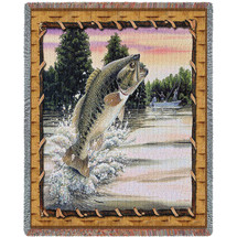 Bass Attack - Tapestry Throw