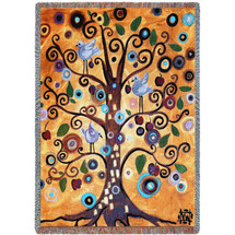 Tree of Life - Tapestry Throw