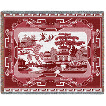 Red Willow - Tapestry Throw