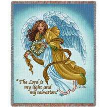 My Salvation Angel - Tapestry Throw