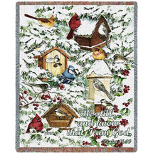 A Winter's Gift - Tapestry Throw