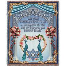 Chuppah Wedding - Tapestry Throw