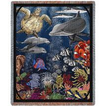 Underwater - Tapestry Throw