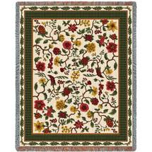 Chelseas Garden - Tapestry Throw