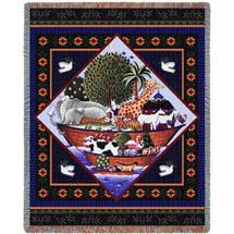 Noah's Ark Full - Tapestry Throw