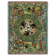 Ravens Panel - Celtic - Tapestry Throw