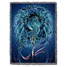Seablade - Ruth Thompson - Cotton Woven Blanket Throw - Made in the USA (72x54) Tapestry Throw