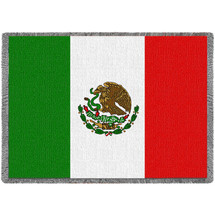 Mexico Flag - Afghan