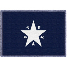 State of Texas Star Flag - Afghan