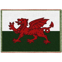 Wales - Welsh Dragon Flag - Afghan