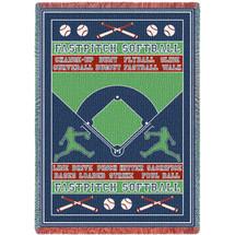 Sports - Fast Pitch Softball Field - Afghan
