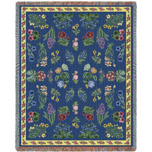 Greyson's Floral - Tapestry Throw