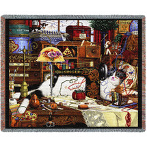 Maggie The Messmaker - Tapestry Throw