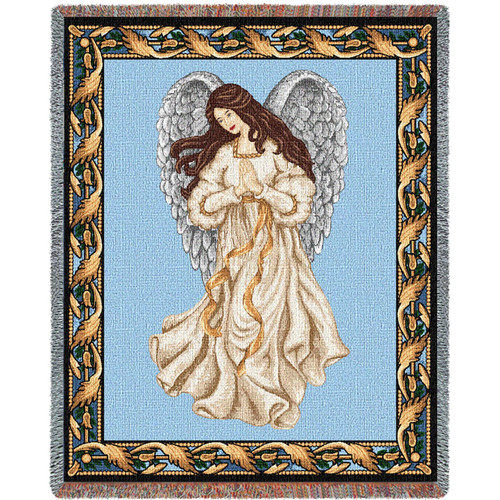 Guardian Angel 1 - Tapestry Throw