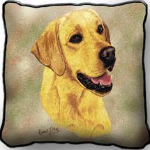 Labrador Retriever Yellow Lab - Pillow