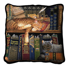 Remington the Well Read - Pillow