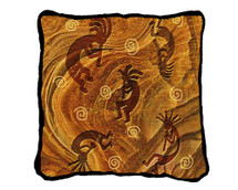 Kokopelli the Ancient Ones - Kokopelli - Southwest - Pillow
