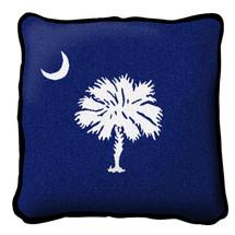 South Carolina State - Palmetto Moon Blue - Pillow