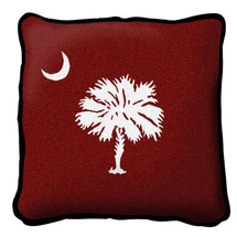South Carolina State - Palmetto Moon Red - Pillow
