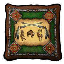 Native American - Kokopelli - Southwest - Pillow