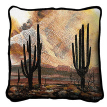 Sonoran Sentinels by Adin Shade - Pillow