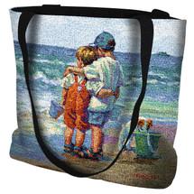 Summer Daze - Beach Scene - Tote Bag