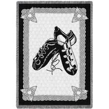 Irish Dance Shoes Blanket Afghan