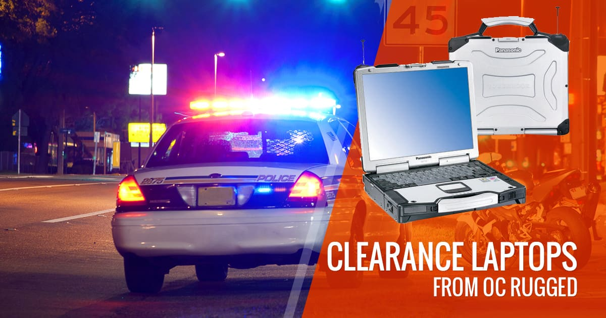 Clearance laptops from OC Rugged