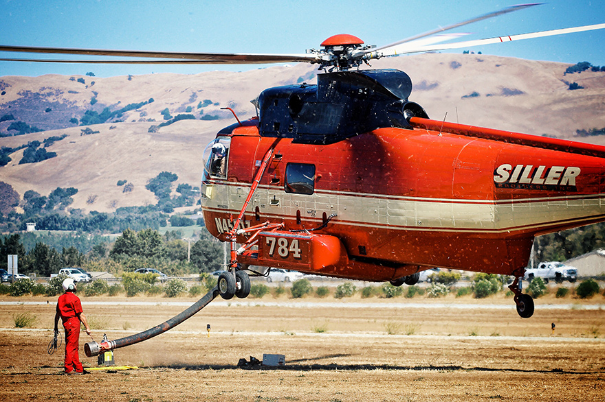 refueling helicopter
